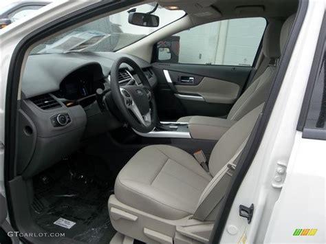 ford edge se interior color  gtcarlotcom