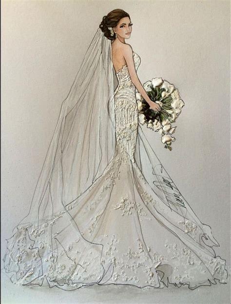 custom wedding dress beautiful pencil image custom wedding dress illustration sketch on form how to draw