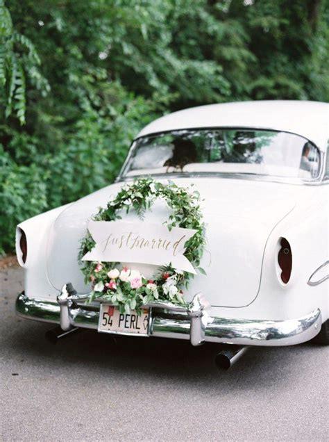 Hochzeitswagen Deko by 51 Besten Hochzeit Auto Kutsche Co Bilder Auf