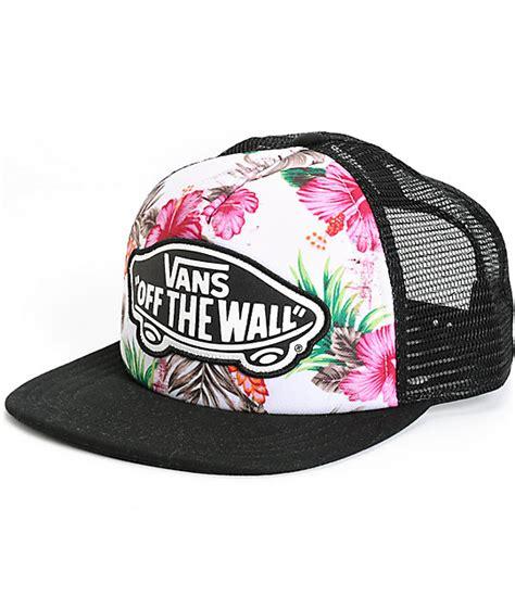 Exclusive Snapback Logo Floral vans hawaiian floral trucker hat trucker hats vans and logos