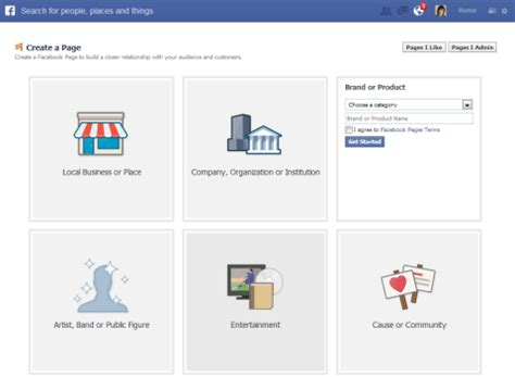 facebook celebrity page setup how to create facebook fan page for business fan page