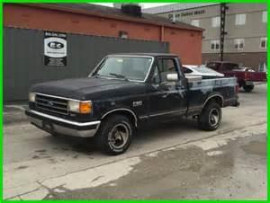 91 Ford F150 Used 91 Ford F150 Xlt 5l V8 Rwd Work Truck Black
