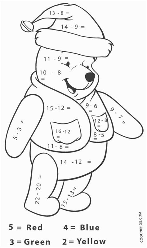 christmas coloring pages with math problems christmas coloring math problems coloring pages