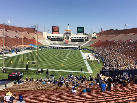 section 14 a los angeles memorial coliseum section 14 rateyourseats com