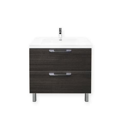 Forme Vanities by Bunnings Forme Forme 800mm Oak Satin Cabin Floor Vanity