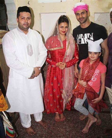 vivek dahiya child divyanka tripathi and hubby pay a visit to ajmer dargah pics