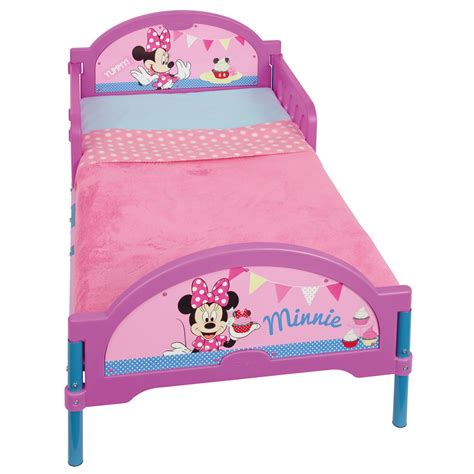 toddler minnie mouse bed minnie mouse cosytime toddler bed new 100 official ebay