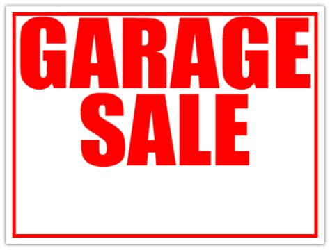 garage sale sign template garage sale lawn sell sign yard sale signs