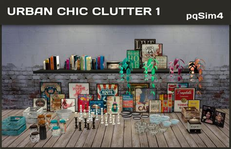 the sims 4 clutter tumblr my sims 4 blog urban chic clutter by pqsim4