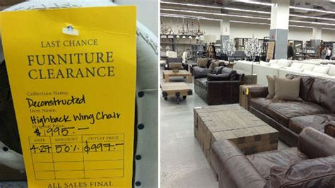 Ny Racked Sle Sales by Woo There S Now A Restoration Hardware Outlet In