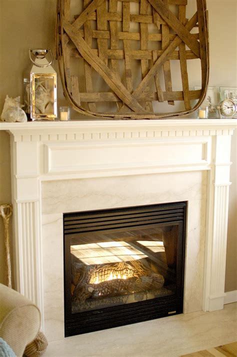 Fireplace Mantel White by White Fireplace Mantel Makeover Living Rich On Lessliving Rich On Less