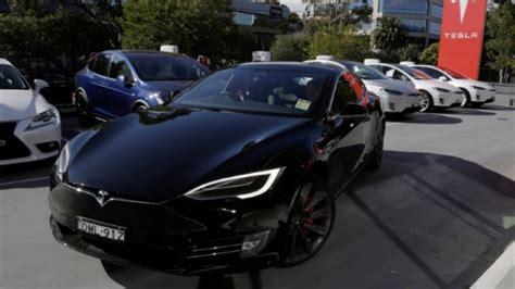 Tesla Electric Car Safety Tesla Shares Decline Again As Safety Test Scores