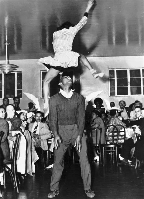 the history of swing lindy hop historical
