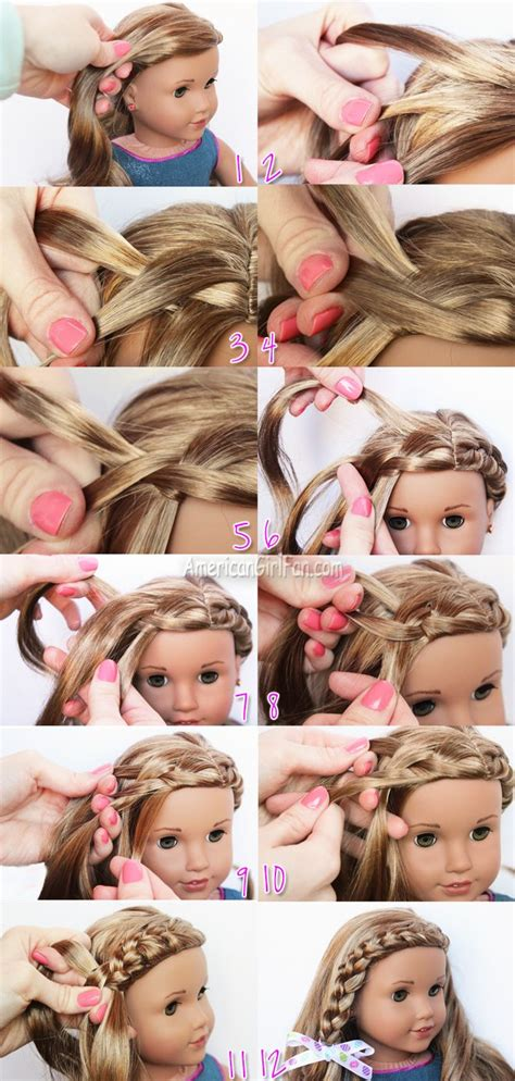 Doll Hairstyles Step By Step by American Doll Hairstyles Step By Step American Doll