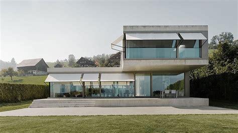 villa   modern minimalist house  switzerland home