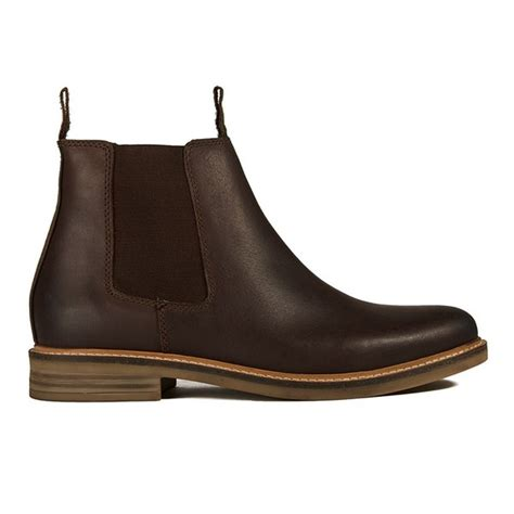mens brown chelsea boots uk barbour s farsley leather chelsea boots brown free