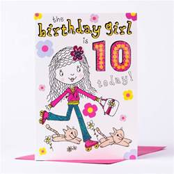 10th birthday card 10 today only 79p