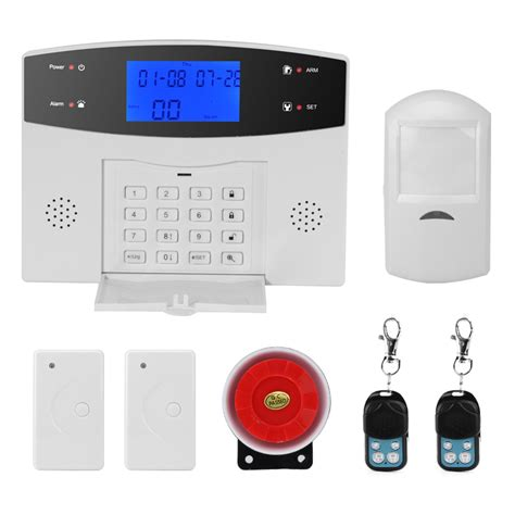 Gsmplus 2017 Free Sms danmini home office security alarm system pir motion detection door window sensors remote