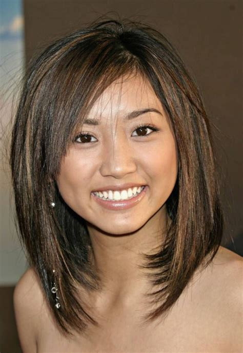 medium length hair cuts overweight hot and swanky hairstyles for round face round faces