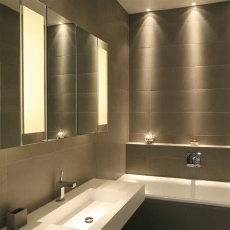 Led Lighting For Bathrooms Bright Led Bathroom Lighting Ideas Homeoofficee