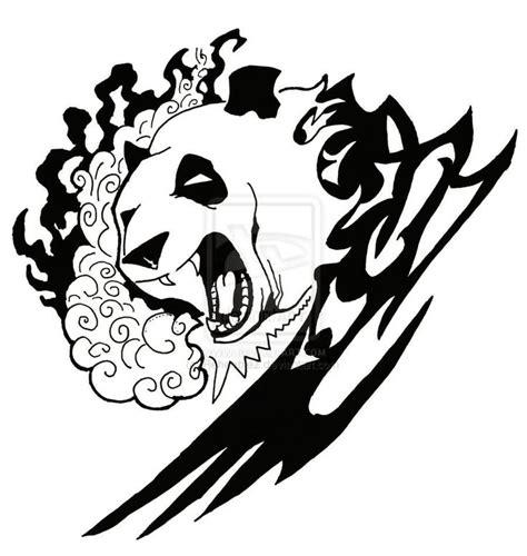 panda tattoo template 17 best ideas about tribal bear tattoo on pinterest bear
