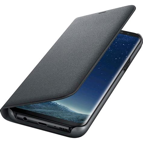 Promo Samsung Galaxy S8 Plus Led View Original Promo Price S8 phone cases led view book black samsung galaxy s8 plus 160379 samsung quickmobile