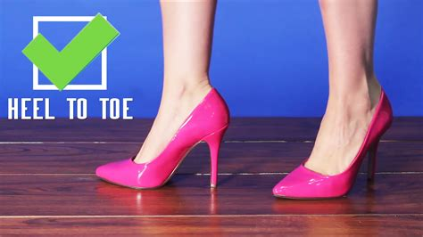 how to walk a how to walk in pointy high heels tutorial from amiclubwear