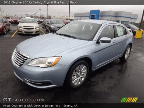 2013 Chrysler 200 Lx Sedan by Blue Pearl 2013 Chrysler 200 Lx Sedan Black