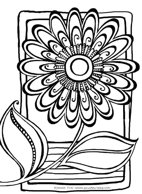 abstract coloring pages free coloring home