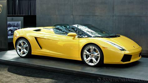 Lamborghini Gallardo Car Lamborghini Gallardo Spyder