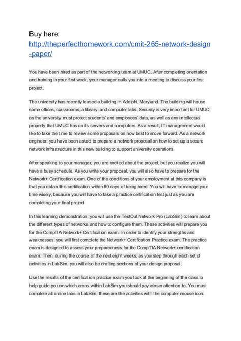 home network design proposal cmit 265 network design paper