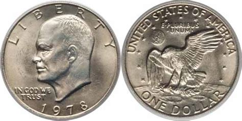 specifications eisenhower silver dollars 1978 eisenhower dollar values facts