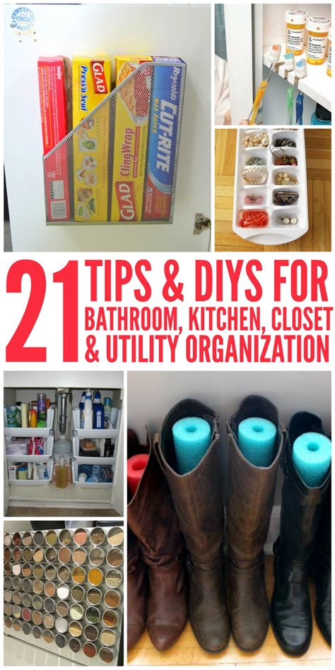 diy home organization 21 tips and diy organization ideas for the home