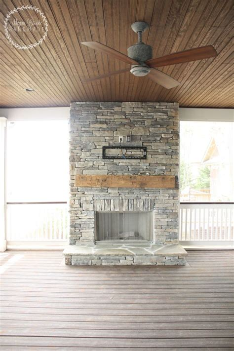 fireplace on screened porch best 25 porch fireplace ideas on outside