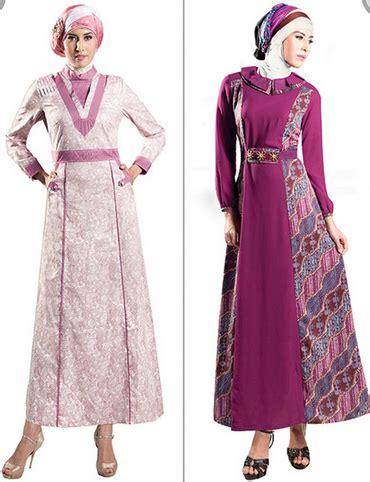 desain baju batik ala jepang 30 contoh baju muslim batik modern 2018 model baju