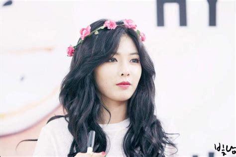 kim hyuna height weight body statistics healthy celeb hyuna k pop amino