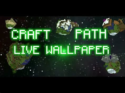 wallpaper android path craft path 3d live wallpaper for android youtube