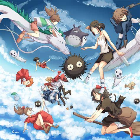 film manga ghibli ghibli by rejuvenesce on deviantart