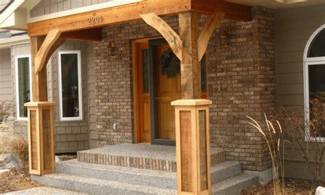 front porch column brackets
