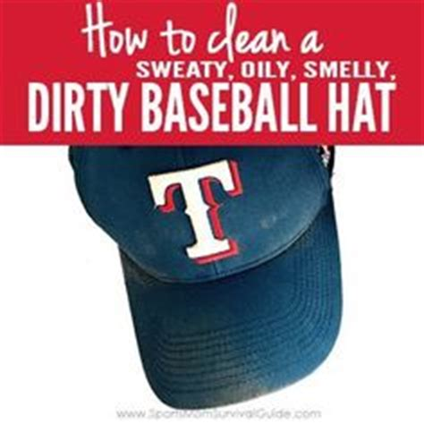 how to clean baseball hats despite what you ve heard you