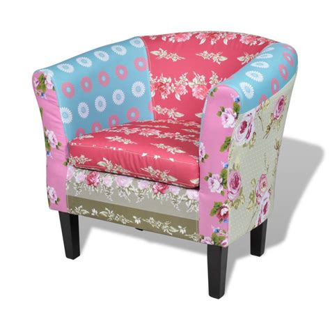 patchwork chairs patchwork chair upholstered armrest with foot stool www
