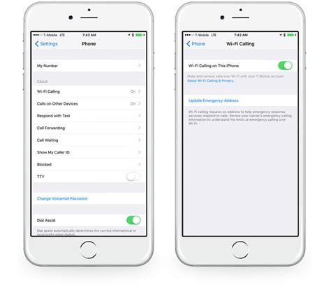 enable wi fi calling   iphone  sweet setup