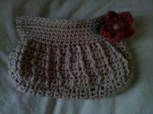 Joyful Clutch front posts clutch purse free crochet pattern