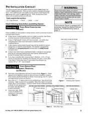 Genie Garage Door Owners Manual Genie Powerlift Excelerator Owner S Manual