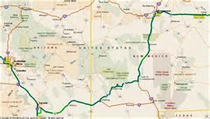 green valley arizona map green valley az to albuquerque nm
