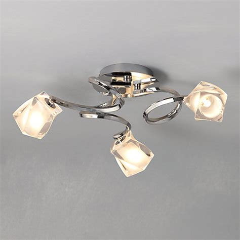 buy lewis nembus semi flush ceiling light lewis