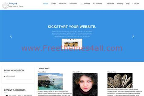 bootstrap themes free blue blue bootstrap multipurpose drupal 8 theme freethemes4all