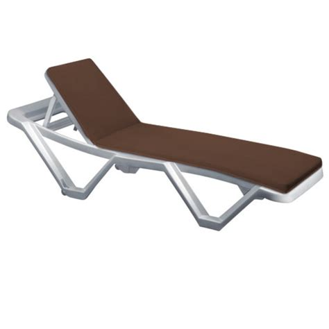 recliner sun lounger cushions outdoor recliner cushion pads for resol master marina