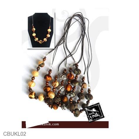 Kalung Batik Bross 31 kalung batik etnik tali warna klasik kalung etnik
