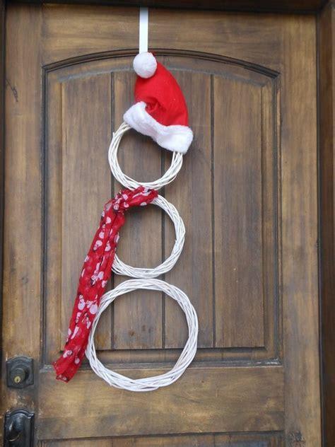 snowman wreath ideas how to make a gorgeous wreath